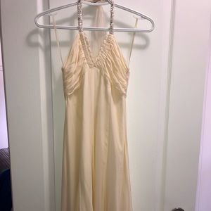 BCBG destination wedding dress